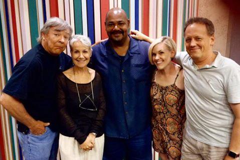 File:Dee Bradley Baker with Frank Welker, Andrea Romano, Kevin Michael Richardson, & Kari Wahlgren.jpg