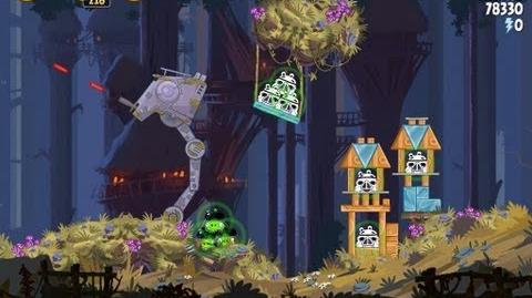 Angry Birds Star Wars 5-4 Moon of Endor 3 Star Walkthrough