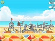 Official Angry Birds Rio Walkthrough Beach Volley 6-8