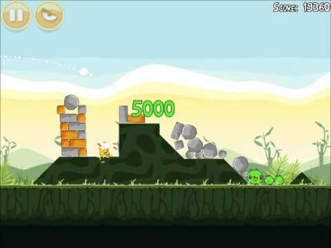 Official Angry Birds Walkthrough Poached Eggs 2-8