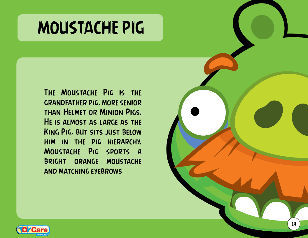 image moustache pig toy care png angry birds wiki fandom