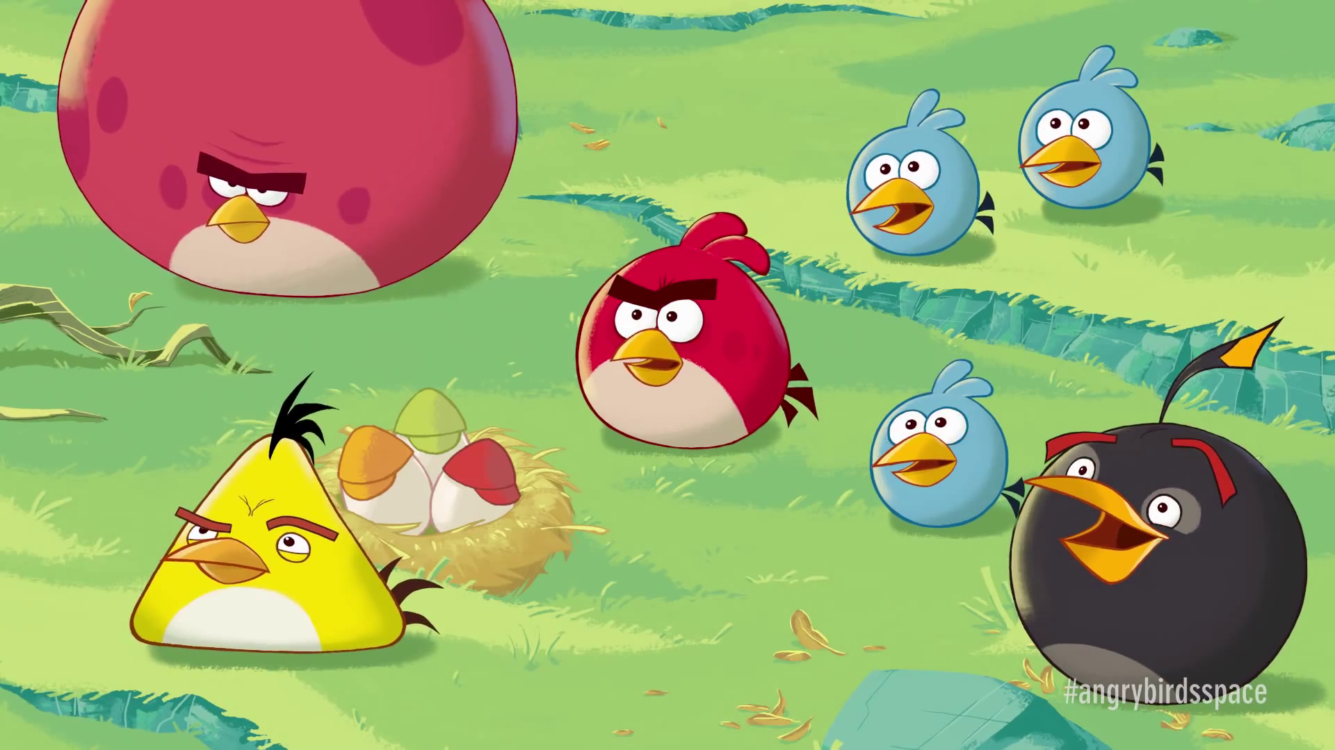 Image - ABSpaceTrailerScreenshot4.png   Angry Birds Wiki ...