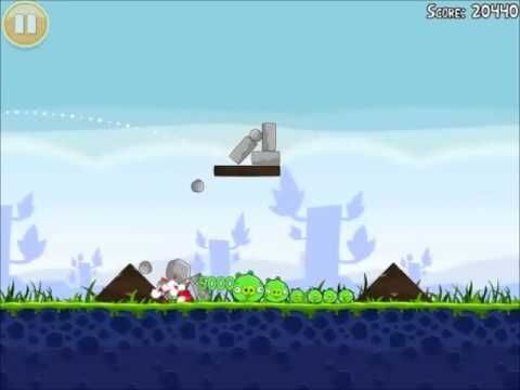 Official Angry Birds Walkthrough Poached Eggs 1-14