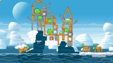 Angry Birds Seasons Arctic Eggspedition 1-21 Walkthrough 3 Star