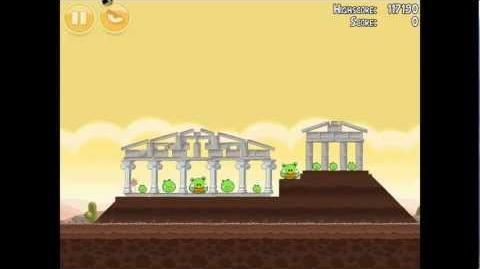 Angry Birds Poached Eggs 3-20 Walkthrough 3 Star
