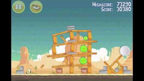 Angry Birds 3 Star Walkthrough Level 13-9