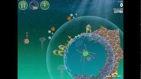 Angry Birds Space Pig Dipper 6-29 Walkthrough 3-Star