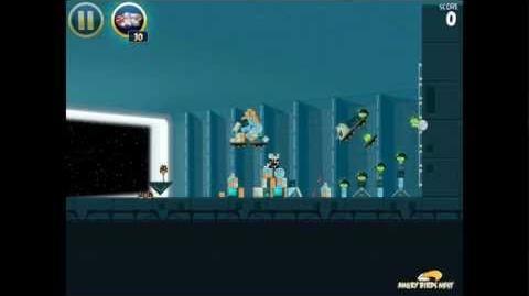Angry Birds Star Wars 2-30 Death Star 3-Star Walkthrough