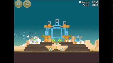 Angry Birds Ham 'em High 12-12 Walkthrough 3 Star
