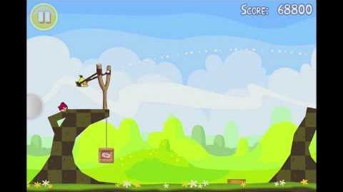 Angry Birds Seasons Easter Eggs Level 8 Walkthrough 3 Star