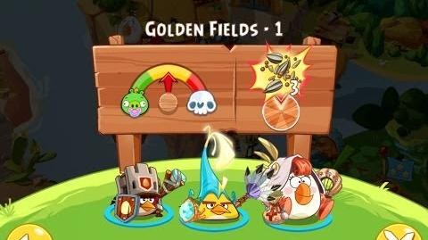 Angry Birds Epic Golden Fields Level 1 Walkthrough