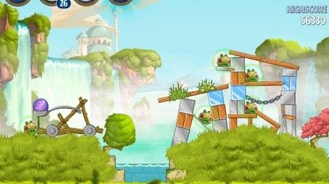 Angry Birds Star Wars 2 Level B1-7 Naboo Invasion 3 star Walkthrough
