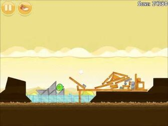 Official Angry Birds Walkthrough Mighty Hoax 5-10