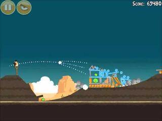 Official Angry Birds Walkthrough Ham 'Em High 14-12