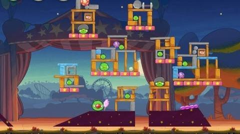 Angry Birds Seasons Abra-ca-Bacon 1-15 Walkthrough 3-Star