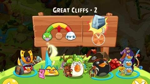 Angry Birds Epic Great Cliffs Level 2 Walkthrough