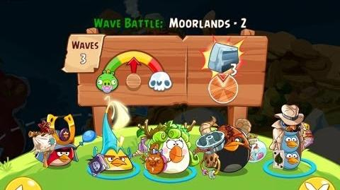 Angry Birds Epic Moorlands Level 2 Walkthrough