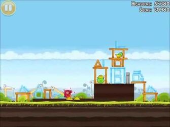 Official Angry Birds Walkthrough The Big Setup 10-10