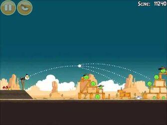 Official Angry Birds Walkthrough Ham 'Em High 14-18