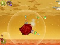 Red Planet 5-2 (Angry Birds Space)