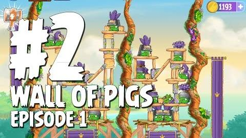 Angry Birds Stella Wall Of Pigs Level 2 Walkthrough Branch Out Episode 1