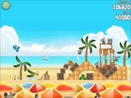 Official Angry Birds Rio Walkthrough Beach Volley 5-11