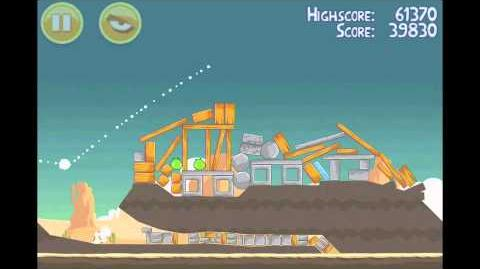 Angry Birds 3 Star Walkthrough Level 13-14