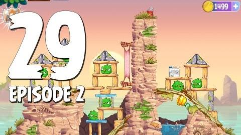 Angry Birds Stella Level 29 Episode 2 Beach Day Walkthrough