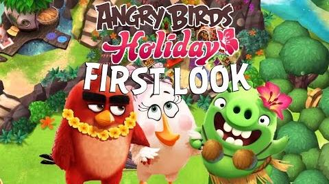 First Look at Angry Birds Holiday – Brand New Farming Game by Rovio