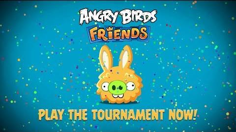 NEW! Angry Birds Friends - Easter Tournament trailer