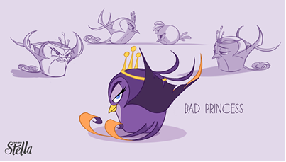 File:Angry Birds Stella Bad Princess.png