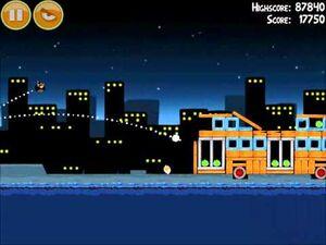Official Angry Birds Walkthrough Danger Above 7-8
