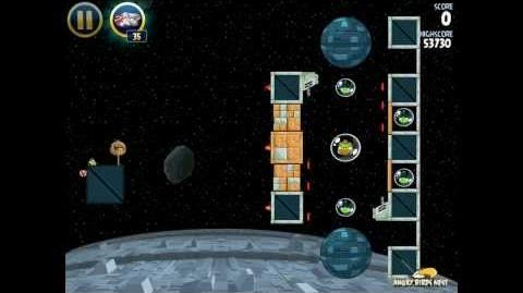 Angry Birds Star Wars 2-32 Death Star 3-Star Walkthrough