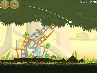Official Angry Birds Walkthrough Danger Above 6-11