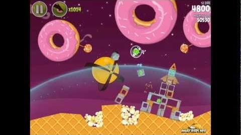 Angry Birds Space Utopia 4-14 Walkthrough 3-Star