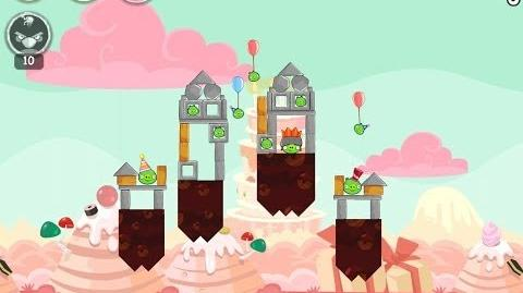 Angry Birds Birdday Party Cake 4 Level 4 Walkthrough 3 Star