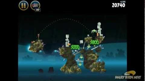 Angry Birds Star Wars 3-34 Hoth 3-Star Walkthrough