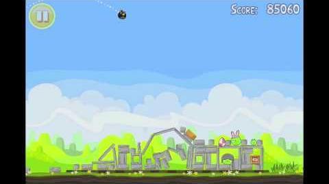 Angry Birds Seasons Easter Eggs Golden Egg 11 Walkthrough