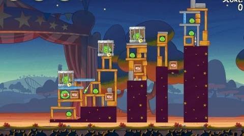 Angry Birds Seasons Abra-ca-Bacon 2-1 Walkthrough 3-Star