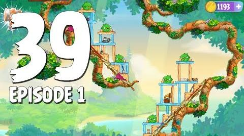 Angry Birds Stella Level 39 Walkthrough Branch Out Episode 1