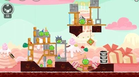 Angry Birds Birdday Party Cake 4 Level 8 Walkthrough 3 Star