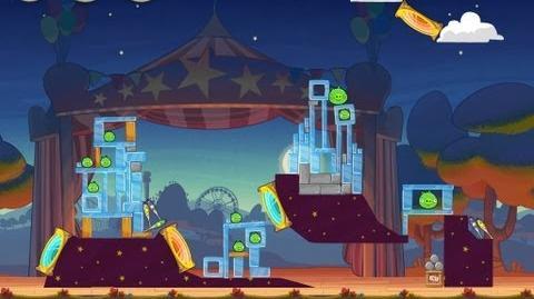 Angry Birds Seasons Abra-ca-Bacon 1-7 Walkthrough 3-Star
