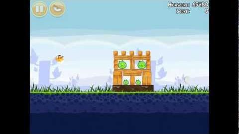 Angry Birds Poached Eggs 1-16 Walkthrough 3 Star