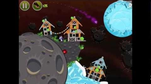 Angry Birds Space Danger Zone Level 7 Walkthrough 3 Star