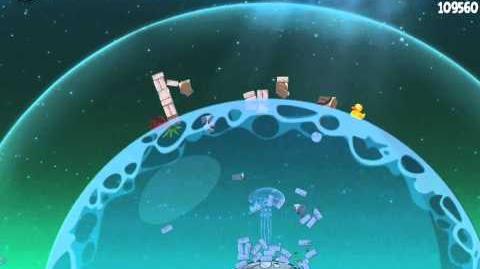 Angry Birds Space Pig Dipper Bonus Level S-14 Walkthrough