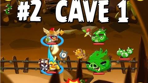 Updated Angry Birds Epic Cave 1 Shaking Hall Level 2 Walkthrough