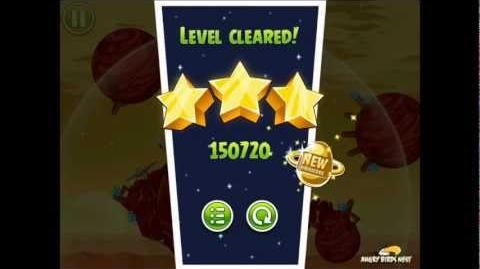 Angry Birds Space Golden Rover 4 Phoenix Lander (E-R4) Eggsteroid Highscore Strategy
