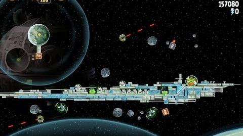 Angry Birds Star Wars 6-15 Death Star 2 Walkthrough 3 Stars
