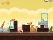 Official Angry Birds Walkthrough Poached Eggs 3-14