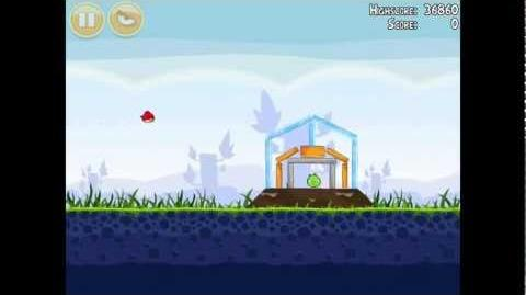 Angry Birds Poached Eggs 1-4 Walkthrough 3 Star